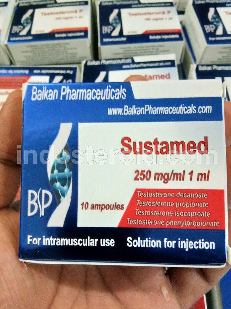 BALKAN PHARMA Sustamed Sustamon 250mg x 10 amp